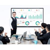 Quality Electronic Smart Interactive Whiteboard Conference Flat Panel Fast Heat Dissipation for sale