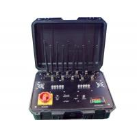 Buy cheap Brief Case Portable Signal Jammer 3-5watt Per Band Built In Ups Battery from wholesalers