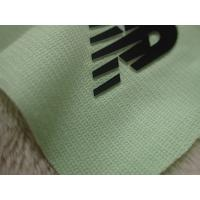 Quality Two Layers Color Silicon Heat Transfer Clothing Labels With Soft Hand Feel For Outdoor Garment for sale