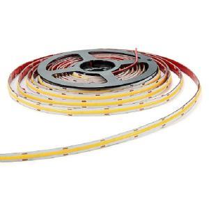 Quality Dc12 24v 10mm Width Warm White Cob Led Strip Light for sale
