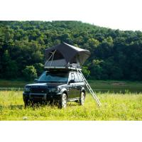 Quality Outdoor Adventure Car Roof Camper Tent , 2 Person Aluminium Roof Top Tent for sale