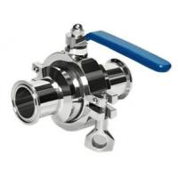 Quality Sanitary Non-retention Ball Valve for sale