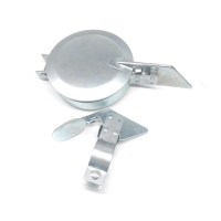 Quality Chrome Plated 6 5/8 in Min. Exhaust O.D., 6 3/4 in Max. Exhaust O.D. Exhaust Rain Cap for sale