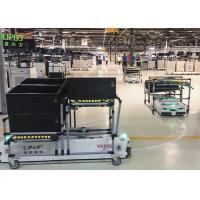 Omni Direction Automated Guided Carts , Smart Cart AGV For Textile Industry