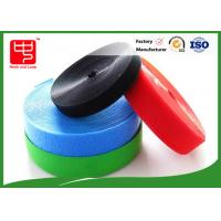 Quality Colorful Hook And Loop Velcro Rolls / Soft Heavy Duty Hook And Loop for sale
