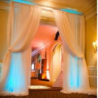 Buy Factory price event backdrop poles wedding decorate Pipe And Drape Wedding at wholesale prices