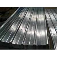 Buy Corrugated Structure Galvanised Roofing Sheets , Galvanized Metal Roofing at wholesale prices