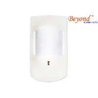 Quality Wireless Wide Angle PIR Detector with Li-ion Battery for sale