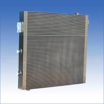 Quality Vacuum Brazed Air Compressor Heat Exchanger Plate - Fin Aluminum Oil Radiator for sale