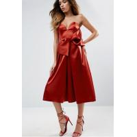 China Off The Shoulder Chiffon Formal Cocktail Party Dresses Boutique Anti Wrinkle on sale