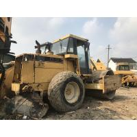 Quality Vibratory Smooth Road Roller Machine Original Paint CAT 3116T Engine 108.2KW for sale