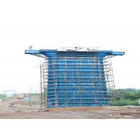 China Template Concrete Column Formwork For Highway Railway Bridge Construction on sale