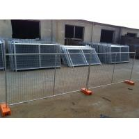 Quality HDG NZ Auckland Temporary Construction Site Fencing Panels OD 33mm outer diameter wall thick 2.00mm 2100mmx3300mm for sale