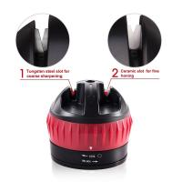 Buy cheap Customize LOGO Suction Cup Knife Sharpener , Professional Knife Sharpener from wholesalers