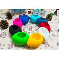 Buy cheap fashion mini silicone egg speaker for Iphone from wholesalers