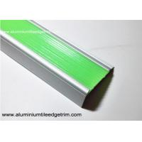 Buy cheap Aluminium Photoluminescent Stair Nosing With 50 mm Width And 20 mm Height from wholesalers