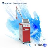 Quality Vertical 1064nm / 532nm ND Yag Laser Tattoo Removal Machine For Pigment Tattoo Birthmark for sale