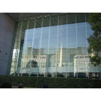 Curtain wall decorate the house with beautiful curtains for Glass window wall