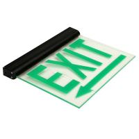 Quality 110V / 220V Maintained Aluminum Exit Sign emergency lighting fire exit signs (DSL008BM) for sale