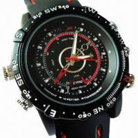 Quality Waterproof Cheap Hidden Camera Watch with 4GB Internal Memory for sale