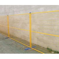 Wholesale 6 ft x 9.5 ft metal temporary fencing panels construction fence,Canada temporary fence hot sale