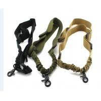 Quality Nylon Adjustable CS Rifle Airsoft Gun Strap / Tactical Single Point Sling for sale