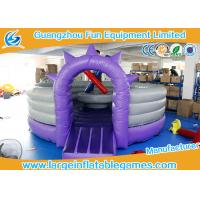 Buy cheap CE Inflatable Sport Games / Purple Competitive Fighting Arena Eco Friendly from wholesalers