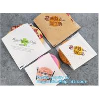 Wrap Paper Bag for Snack/Fast Food Multicolor Choice Wholesale,Printed PE coated