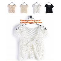 Buy cheap Sweater, Cardigan, Crochet, Crocheted, Pullover, Hollow Out, Summer Tops, from wholesalers