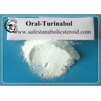 Quality Oral Turinabol Most Powerful Anabolic Steroid Hormones CAS 2446-23-3 For Bodybuilding for sale
