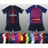 Buy cheap Custom kids soccer jersey full kit with socks football jersey for kids from wholesalers