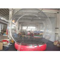 Buy cheap Changeable Color Inflatable Snow Globe Transparent Appearance CE Approved from wholesalers