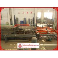 Quality PLC Control System Corrugated Roll Forming Machine for Mgo / Fiber Glass Mesh Raw Material for sale