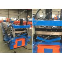 China Large Capacity Cold Roll Forming Machine , V Shape Metal Roof Roll Forming Machine on sale