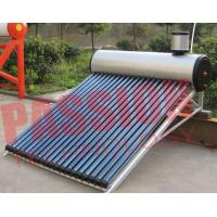 China 0.5 Bar Evacuated Tube Solar Hot Water Heater For Swimming Pool 200L on sale