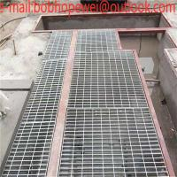Quality hot dipped galvanized steel grating egypt with good quality/Metal building materials hot dipped galvanized steel grating for sale
