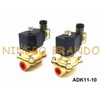 Buy cheap G3/8'' ADK11-10A/10G/10N CKD Type Brass Solenoid Valve Pilot Kick 2 Way from wholesalers