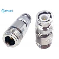 Quality All Copper 50ohm N Female To Bnc Male Connector Rf Straight Coaxial Adapter for sale