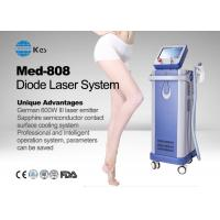 Buy cheap 2017 KES Factory latest cheap imported Germany 6 bar handpiece laser diode 808 nm hair removal machine price product