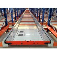 Quality Automatic Density Shuttle Pallet Racking System Used In Foods / Beverage for sale