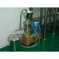 Quality Small Stainless Steel Colloid Mill Machine With Advanced Rotator + Stator for sale