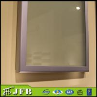 Quality kitchen anodized standard size glass insert profile aluminum cabinet door for sale