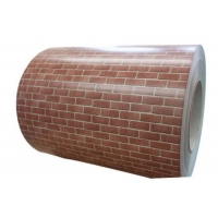 Quality 2.0mm SS304 Retro Brick Painted Steel Coil for sale