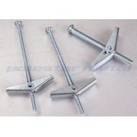 China Customize Spring Nylon Toggle Bolts Hollow Wall Anchors With DIN558 Carbon Steel on sale