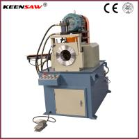 Quality Semi Automatic Single Head Chamfering Machine For Metal Pipe / Tube / Solid Bar for sale