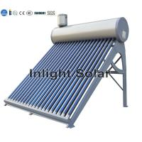 China 200L Open Loop Non Pressurized Solar Water Heater With Anticorrosive PVDF Coating on sale