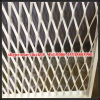 Quality aesthetic Balustrading Expanded Metal aluminum mesh for sale