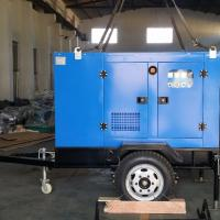 Buy cheap High Efficiency Mobile Diesel Generator Smooth Running Low Vibration And Noise from wholesalers