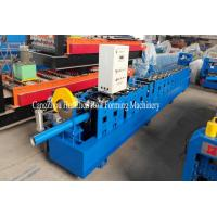 China HC100 Round Water Pipe Down Pipe Roll Forming Machine with Tube Bending on sale