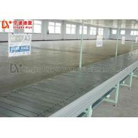 Quality Plastic Slat Chain Conveyor Simple Operation With Low Power Consumption for sale